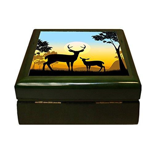 Deer Wildlife Safari Animals Evening 4