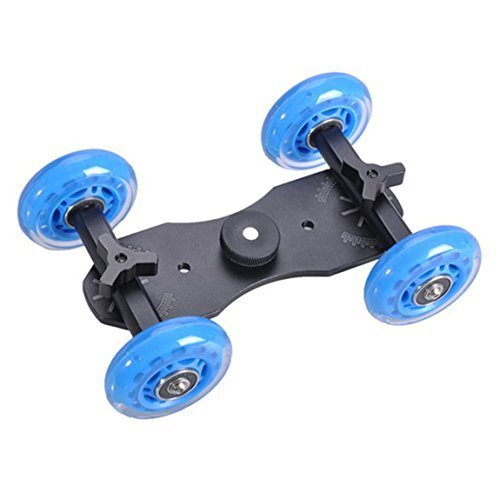 Video Camera Dollies Desktop Car Track Dolly for Canon EOS 5D 5D2 5D3 Mark II III by TZYtech