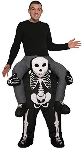Forum Novelties Men's Skeleton Ride-on Deluxe Costume, As As Shown, OS -