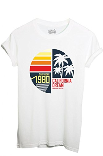 T-Shirt CALIFORNIA DREAM SURFRIDER 1980 - FAMOSI by iMage Dress Your Style