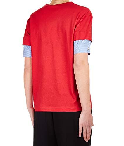 F02141574608 Algodon Mujer shirt T Rojo N°21 vwB54B