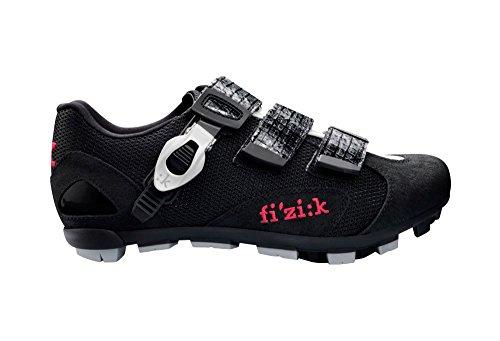 Fizik Women's M5 Donna Mountain Bike Shoes, Black/White, ...