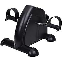 Portable Exerciser Mini Bike Trainer Exercise Machine Desk Home Gym Pedal Cycle Black/White
