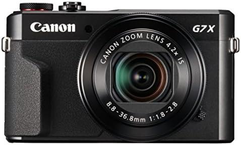 Canon PowerShot G7X II – Kit prémium con cámara compacta negra ...