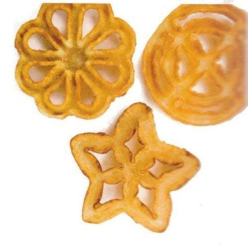 Amazon.com: IBILI Rosette Iron Set of 3 Rose Molds Moulds, Flower, Circle, Star.: Kitchen & Dining