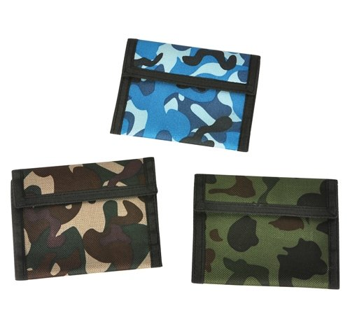 5''X4'' CAMOUFLAGE WALLET, Case of 288
