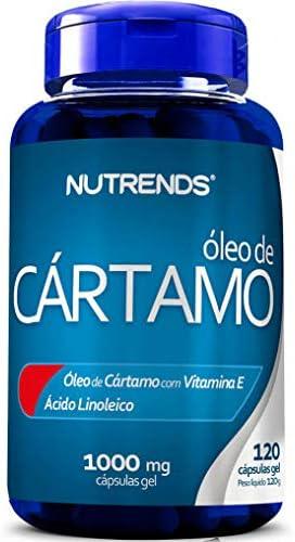 Óleo de Cártamo 1000Mg 120 Cápsulas, Nutrends