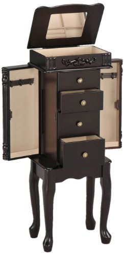 Acme 16008 Tiana Jewelry Armoire, Espresso Finish