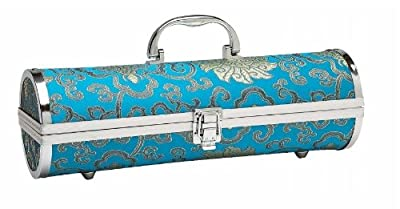 Primeware Gala Sassy Silk Wine Purse, Blue Turquoise