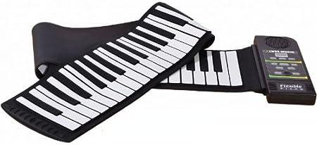 Flexible Piano digital plegable 88 llaves Piano eletrónico ...