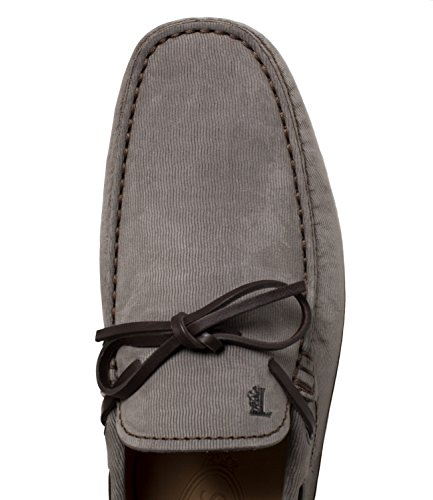Tods Loafers Rubber Suede Leer Man Mod. Xxm0gw05470