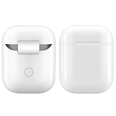 Caja de carga inalámbrica para la caja de carga inalámbrica AirPods Apple, caja de carga