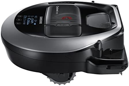 Samsung POWERbot R7065 Robot Vacuum Wi-Fi Connectivity, Ideal for Carpets, Hard Floors, and Pet Hair with 5160Pa Strong Performance, Works with Amazon ...