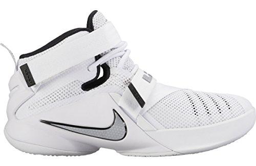 Nike Herren Lebron Soldier IX Basketballschuh Weiß