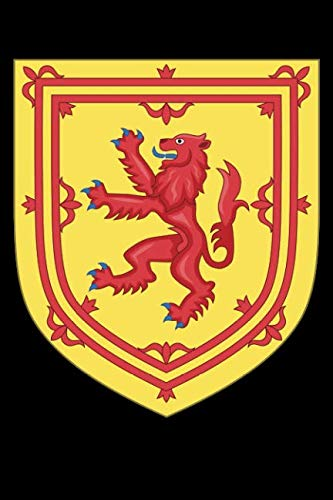 (Scotland Coat of Arms: Blank Lined Notebook, Journal or Diary)