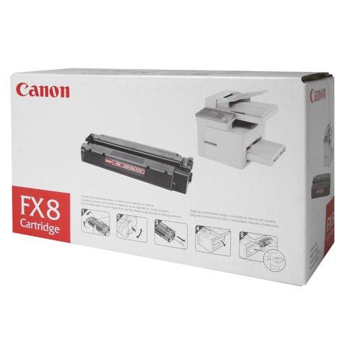 Canon CNMFX8 Toner Cartridge, Black, Laser, 3500 Page, 1 Each