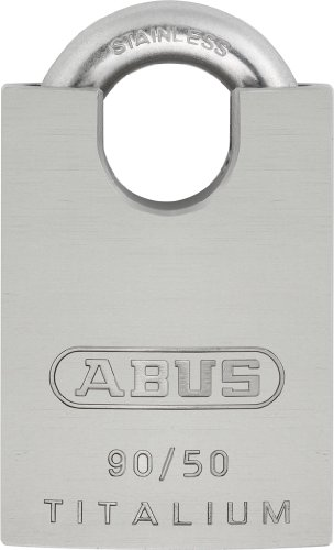 (Abus 90/50 KA Titalium 50mm Body with Stainless Steel Shackle)