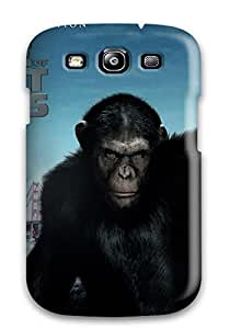 New WCZntaJ1212Xigzm 2011 Rise Of The Planet Of The Apes Skin Case Cover Shatterproof Case For Galaxy S3