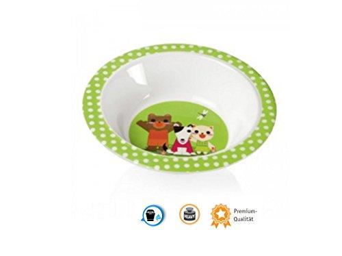 Kinder Motiv Schale Suppenschüssel Speiseschale Melamin Schüssel Kinderschale Ø 16,5 cm unzerbrechlich