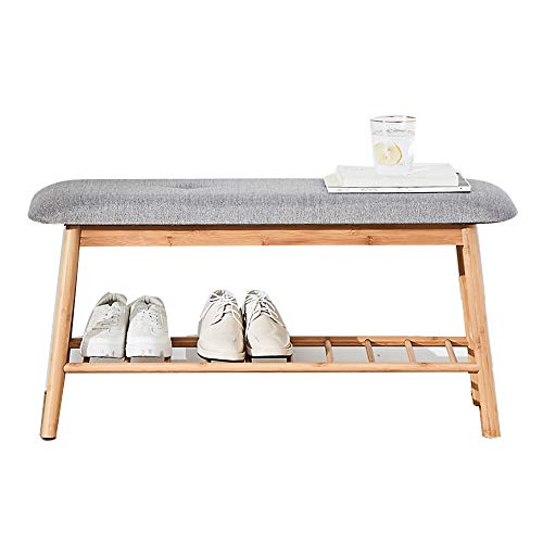 - Shelves MEIDUO Shoes Racks Organizer Perfect Bench Seat Storage for Hallway Entryway, Mudroom, Closet, Bedroom, etc (Size : 60cm)