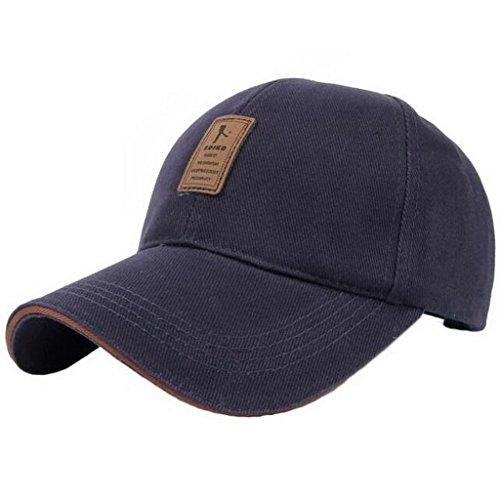 Gorras Sombreros Béisbol Sólido Hombre Algodón Deporte Ajustable 1 Equipado UKERDO Ocio q7Hzwx7O