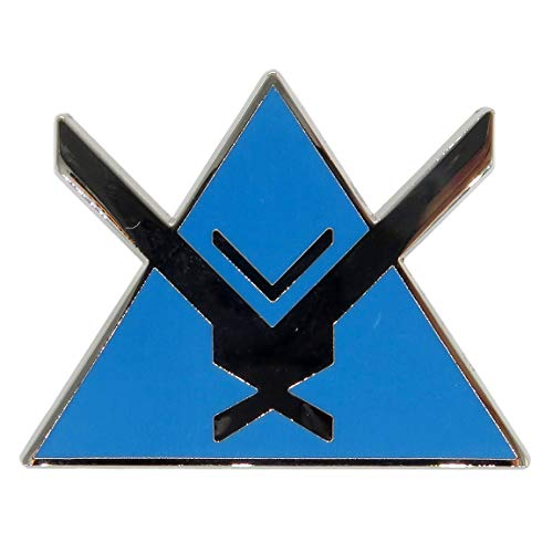 Halo Noble Team Pin - Halo Legendary Crate Exclusive (June 2017) (Halo Wars Vs Halo Wars Platinum Hits)