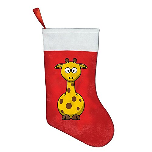 Christmas Stocking Party Accessory The Giraffe Red Felt Festival Party (National Costumes Coloring Pages)