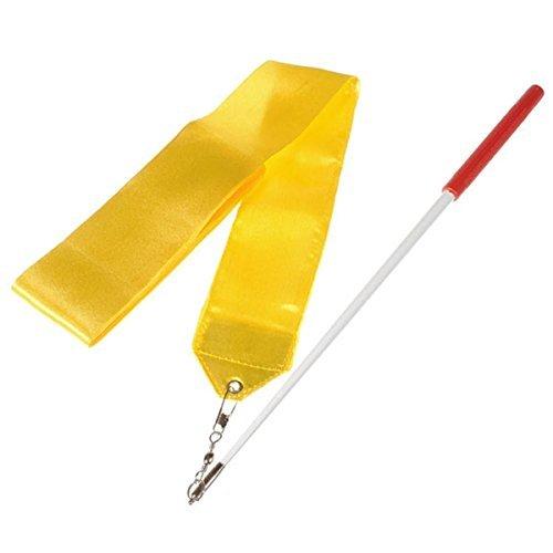SunbowStar Gymnastic Ribbon 2M GYM Dance Rythemic Twirling Exercise Art Rod Stick 10pcs