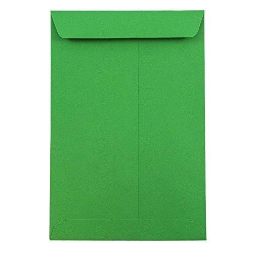 - JAM PAPER Open End Catalog Envelope - 6 x 9 - Green - 250/pack