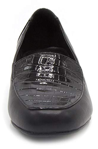 London Fog Shoe Black Womens Fulton Dress Heeled SrrfWF