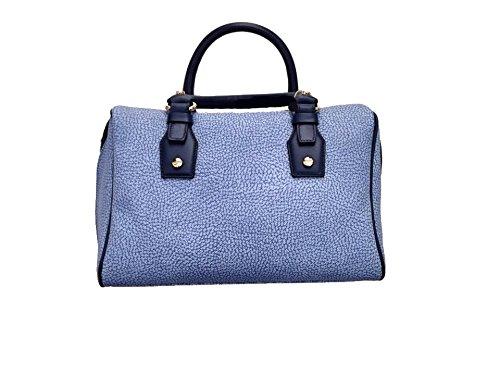 Borbonese , Sac à main pour femme bleu Bleu jeans