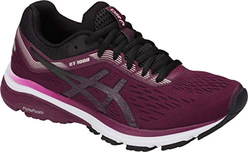 ASICS GT-1000 7 Women's Running Shoe, Roselle/Black, 5.5 B US by ASICS (Image #4)