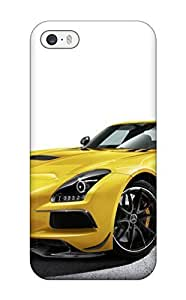 Beautifulcase Anti-scratch And Shatterproof Mercedes Sls Amg cell phone case cover For dRGGBQDKA5x Iphone 5/5s/ High Quality Tpu case cover