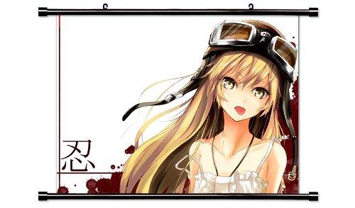 Monogatari Anime Fabric Wall Scroll Poster (32 x 24) Inches.[WP]-Mon-18 (L)