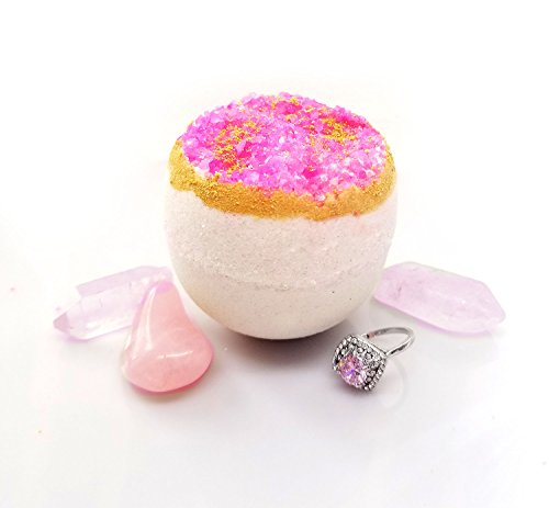 Hidden Treasure Extra Large Bath Bomb (Pink Quartz) (Quartz Bath)