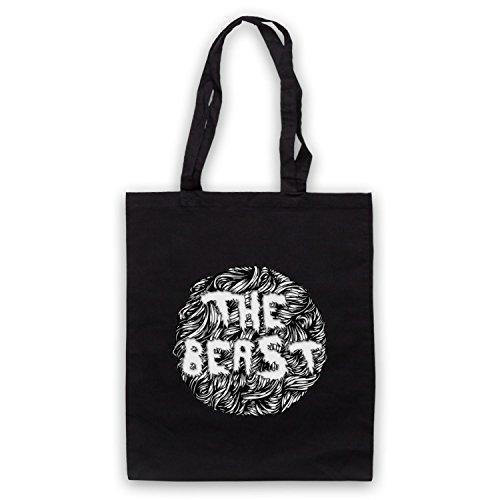 The Beast Slogan Bolso Negro