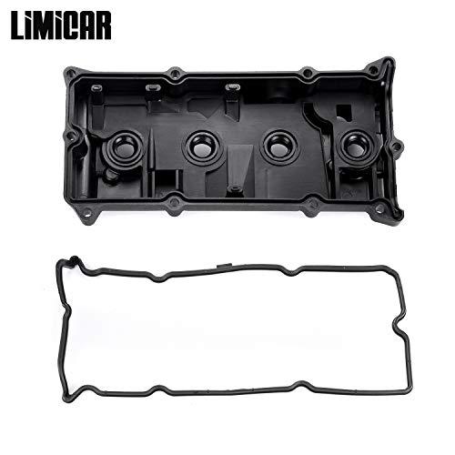 - LIMICAR PCV Valve Cover & Valve Cover Gasket CNVG-D1252VC 132643Z001 Compatible with 2002 2003 2004 2005 2006 Nissan Altima Sentra 2.5L QR25DE