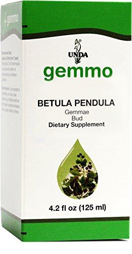 UNDA Gemmo Therapy - Betula Pendula - Birch Bud Extract - 4.2 fl oz (125 ()
