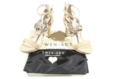 Zapatos Twin Simona set Barbieri Senape BXW6q1a