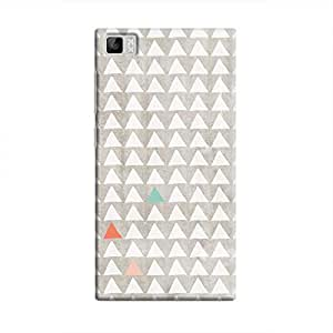 Cover It Up - Odd Hills Grey Mi3 Hard Case