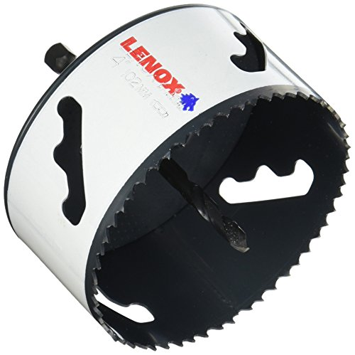 LENOX Tools Bi-Metal Speed Slot Arbored Hole Saw with T3 Technology, 4""