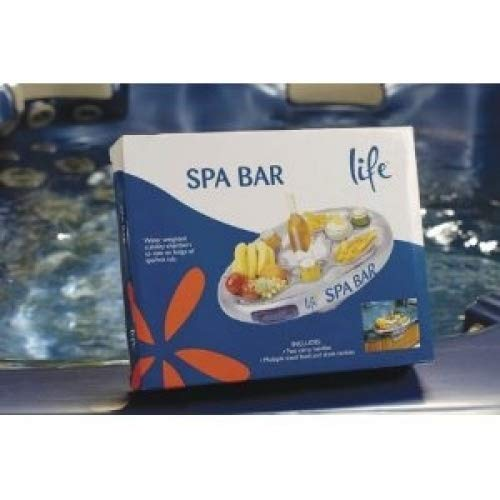 Spa Supplies Usa Hot Tubs Spas - Life Floating Spa Bar Inflatable Hot Tub Side Tray for Drinks and Snacks
