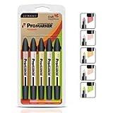 Letraset Promarker Twin Tip Pen 5 Pack Color Set - Autumn