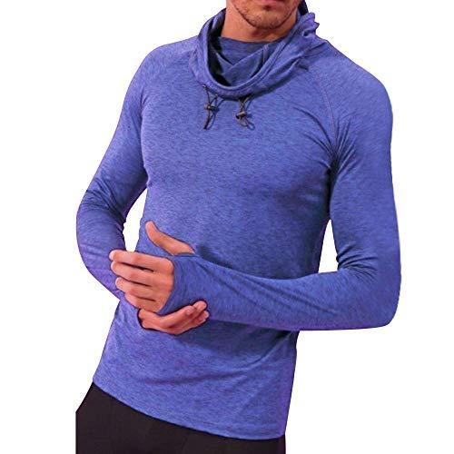 Brass Disney Ball - Londony ♥‿♥ Clearance Sales,Basic Tops for Mens Slim Fit Basic Sport Longsleeve Scoop Neck Pullover Sweatshirt