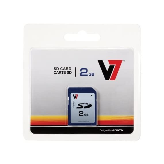 V7 16gb sdhc class 4 flash memory card (vasdh16gcl4r-1n) 1 secure digital high capacity 16gb data storage high speed data transfer: read > 10mb/s, write > 4mb/s durable impact resistant plastic housing