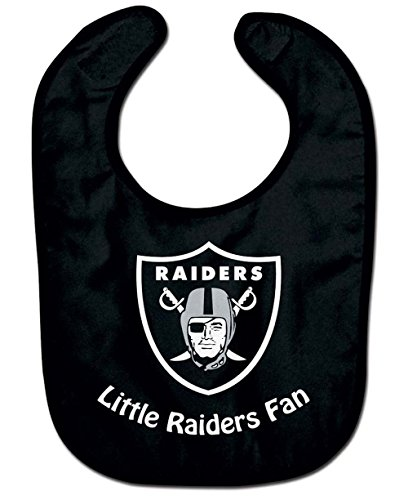 NFL Oakland Raiders WCRA2049014 All Pro Baby Bib (Team Jersey Official Raiders)