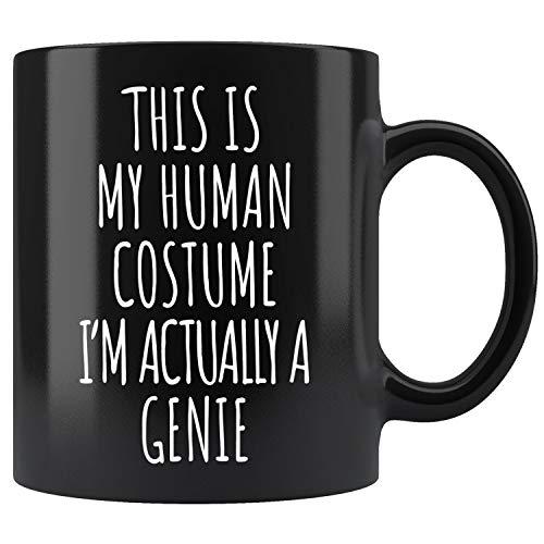 Genie Costume Funny Halloween Mug Coffee Mug 11oz Gift Tea Cups 15oz -