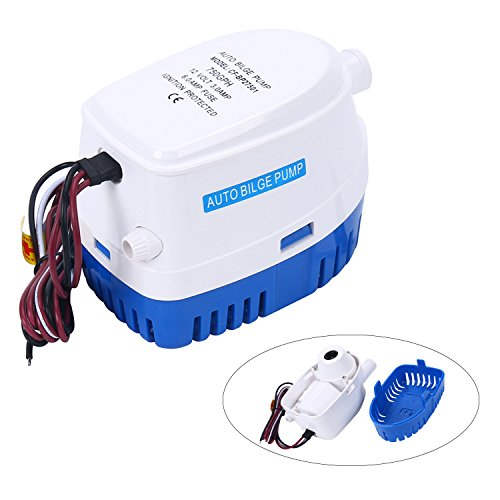 Amarine-made Automatic Submersible Boat Bilge Water Pump 12V 750gph Auto with Float Switch-CA-0348