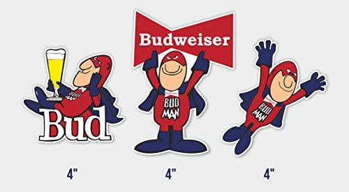 Set of 3 Bud Man Sticker 4