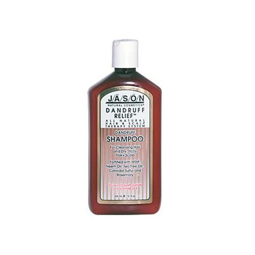 Jason Natural Products Dandruff Relief Shampoo, 12 Ounce -- 3 per case. by Jason